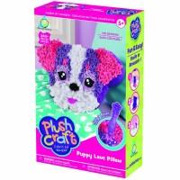 PlushCraft Puppy Love Pillow Girls Craft