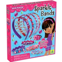 Sparkle Bands Stick n Style Girls Fashion Craft Kit
