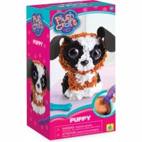PlushCraft Puppy 3D Fabric Craft Kit