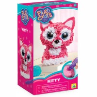 PlushCraft Kitty 3D Fabric Craft Kit