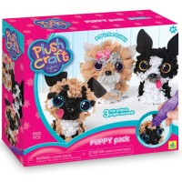 PlushCraft Puppy Pack 3D Fabric Craft Kit