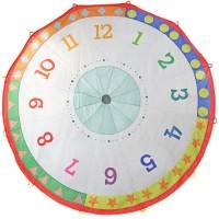 Tick Tock Clock 12 ft Play Parachute