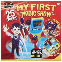 My First Magic Show Kids 25 Magic Tricks Set