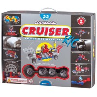 Zoob Mobile RC Cruiser Power Designer 55 pc Building Set