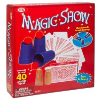Classic Magic Show 40 Tricks Magic Kit