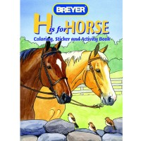 Breyer Coloring Activity Book with Stickers -  'H' is for Horse