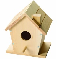 Kids Woodworking Building Set - Bird House
