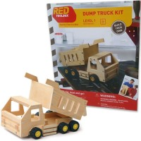 Build a Dump Truck Kids Woodcrafting Kit