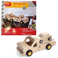 Build a Tow Truck Kids Woodcrafting Kit