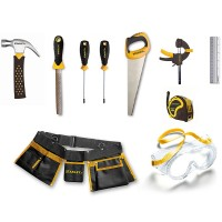 Stanley Jr. 10 pc Real Tools Kids Toolset