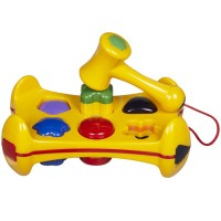 Shape Sorter Pound n Play Bench Toddler Toy