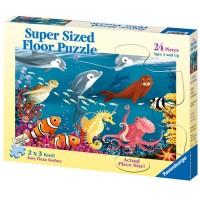 Ocean Life 24 pc Floor Puzzle