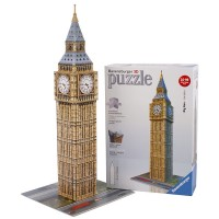Big Ben 216 pc 3D Buildings Puzzle