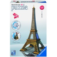 Eiffel Tower 216 pc 3D Buildings Puzzle