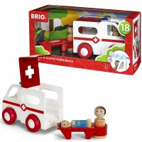 Brio Light & Sound Ambulance Toddler Vehicle Set