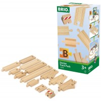 Brio Starter Track Pack 13 pc Extra Wooden Tracks Set