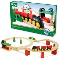 Brio Classic Deluxe 25 pc Wooden Train Set