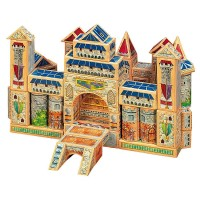 Kings and Castles ArchiQuest Wooden Blocks Building Set