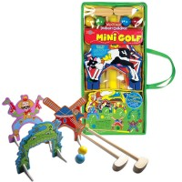 Kids Mini Golf - Wooden Indoor and Outdoor Golf Set