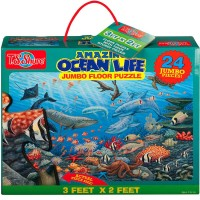 Ocean Life 24 pc Jumbo Floor Puzzle