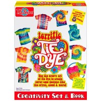 Terrific Tie Dye Creativity Craft Set & Book