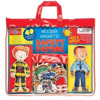 Safety Patrol Boys Magnetic Dress-Up Set