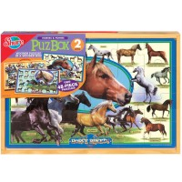 Horse Breeds Jumbo Floor Puzzle