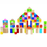 Letters & Numbers 100 pc Building Blocks Set
