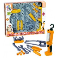 Little Handyman LED Work Light & Tool 12 pc Play Set