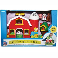 Big Fun Activity Barn - Farm Toddler Playset