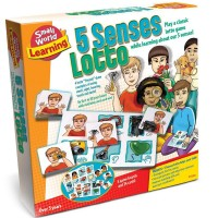 5 Senses Lotto Matching Game