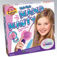 Hair Flair Beaded Beauty Girls Hair Styling Set
