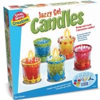 Jazzy Gel Candles Making Craft Kit