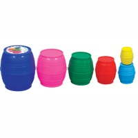 Nesting & Stacking Barrels Manipulative Set