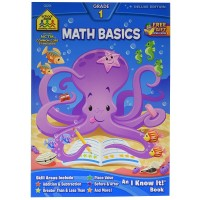 Math Basics 64 Pages Grade 1 Workbook
