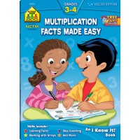 Multiplication Facts Made Easy 64 Pages Grades 3-4 Workbook