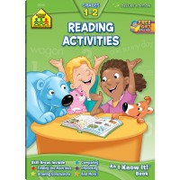 Reading Activities Grades 1-2 64 Pages Workbook