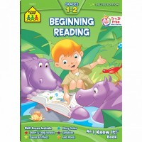 Beginning Reading 64 Pages Workbook for Grades 1-2