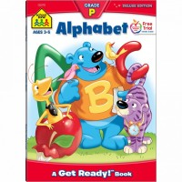 Alphabet 64 Pages Preschool Activity Workbook