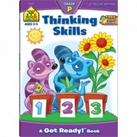 Thinking Skills 64 Pages Preschool Workbook