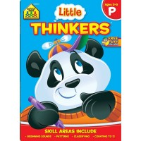 Little Thinkers Preschool 64 Pages Workbook