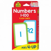 Numbers 1-100 Flash Cards