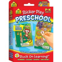 Sticker Play Preschool Interactive Flash Cards