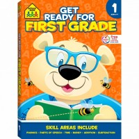 Get Ready for First Grade 256 Pages Activity Workbook