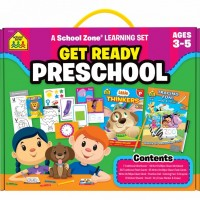 Get Ready Preschool Learning Activity Set