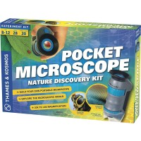 Build Pocket Microscope Nature Discovery Science Kit