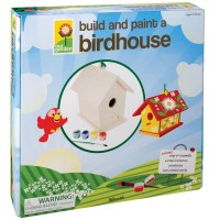 Build and Paint a Bird House Craft Kit