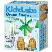 Green Energy 3 in 1 KidzLabs Combo Science Kit
