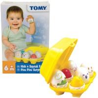 Tomy Hide n Squeak Eggs Sorting Toy