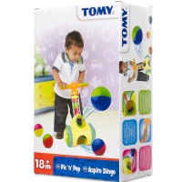 TOMY Pic n Pop Ball Blaster Toddler Push Toy